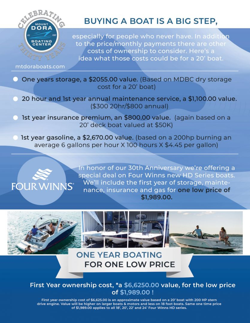 How to Care for your Outboard Engine | Mount Dora Boats