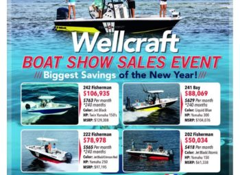 Wellcraft Boat Show Sales Event