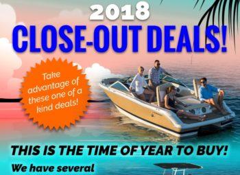 2018 Close-out Deals