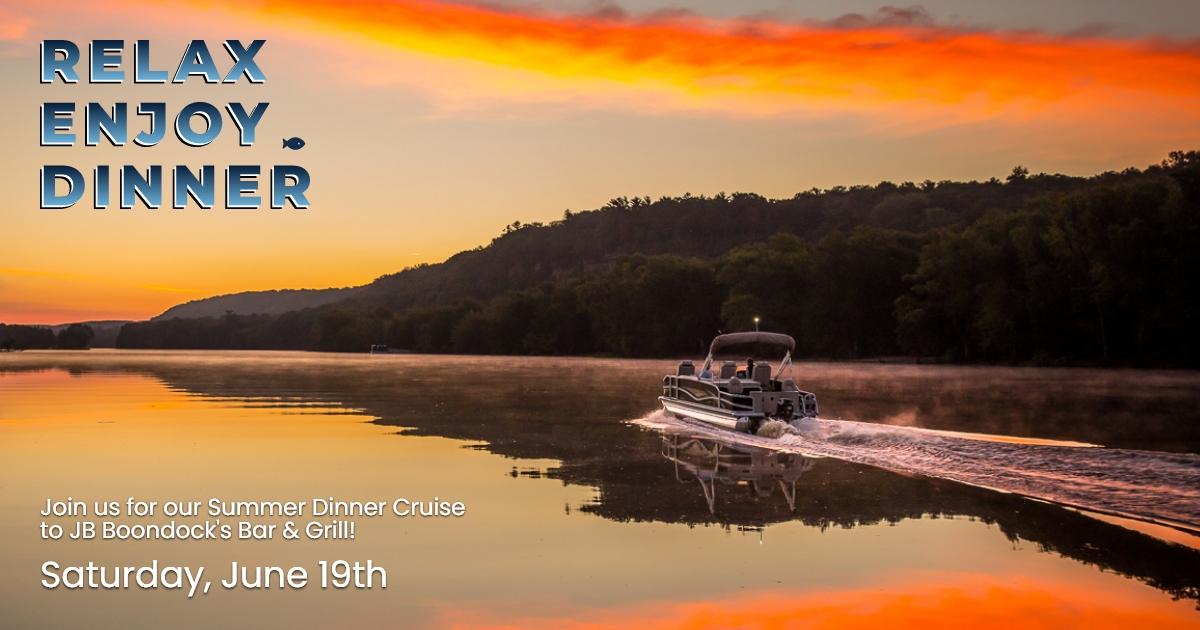 RSVP – Dinner Cruise to J.B. Boondocks