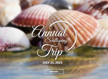 RSVP for our Annual Scalloping Trip