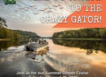 RSVP- Dinner Cruise to Crazy Gator