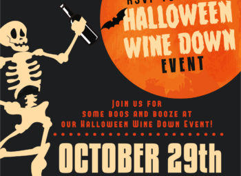 RSVP- Halloween Wine Down Event