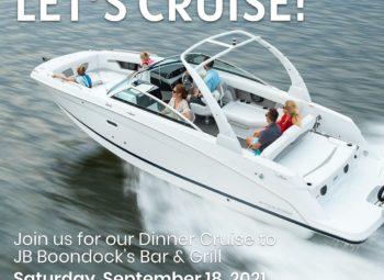 RSVP – Dinner Cruise to JB Boondocks